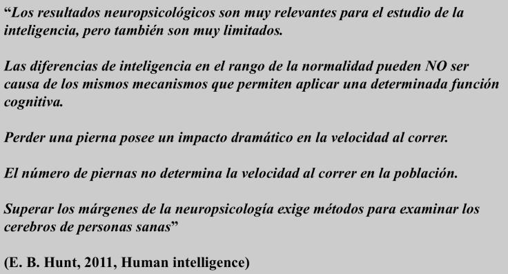 Hunt - Neuropsicologia